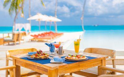 Restaurante a pie de playa en Cancún