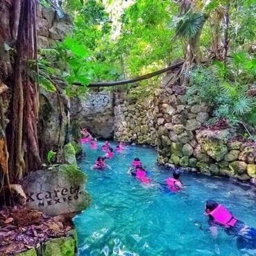 Image tour Xcaret Ecological Park