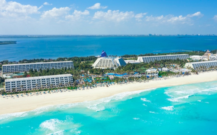 Grand Oasis Cancun Hotel View