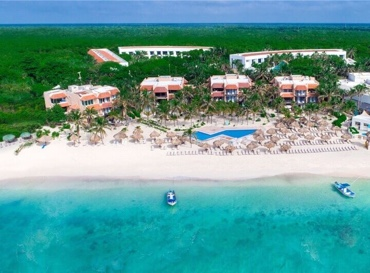 Grand Oasis Tulum Hotel View