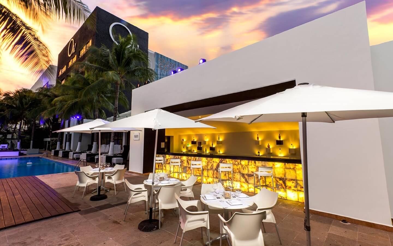 Vista de hotel Oh! Cancun The Urban Oasis