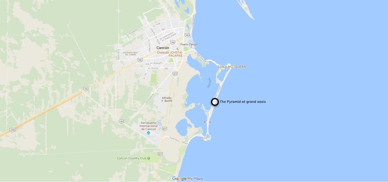 Location Map of the Restaurant Black Hole
