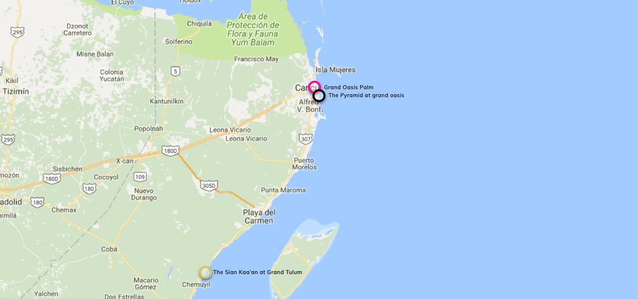Mapa de Ubicacion del restaurante Maki Taco