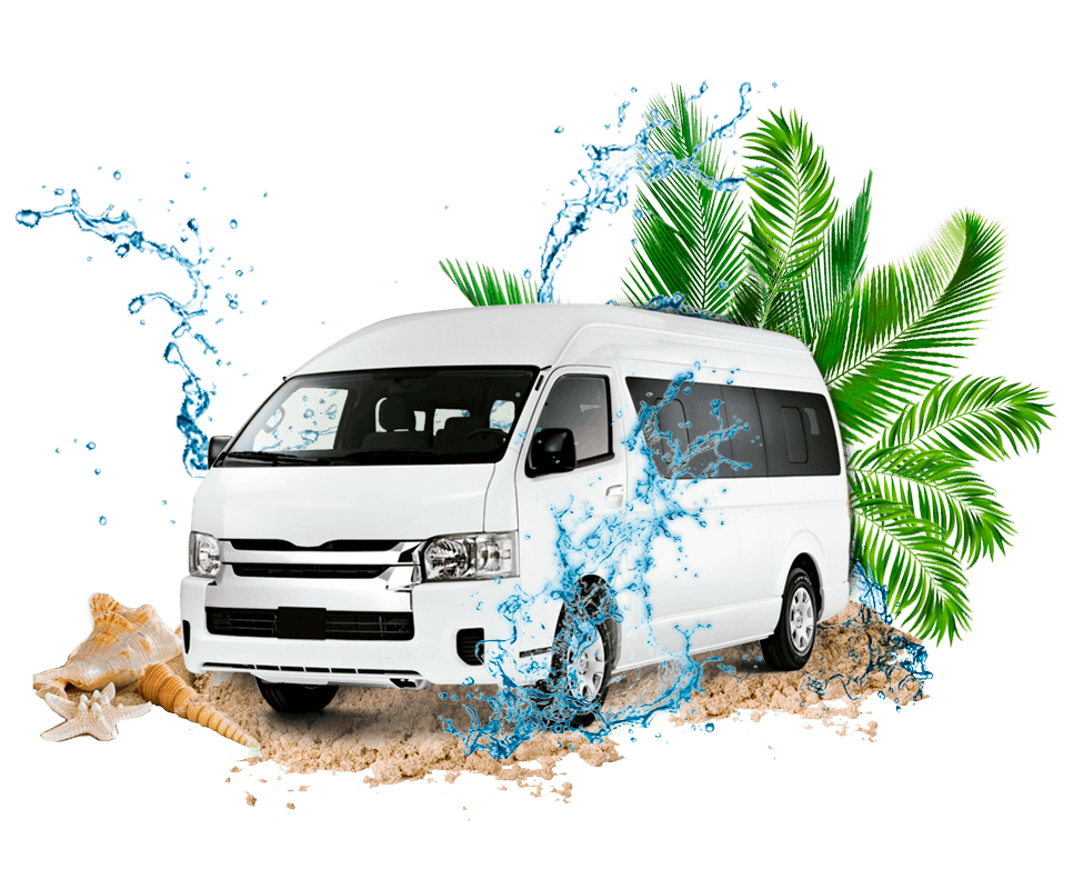 Van for transportation and transfers.